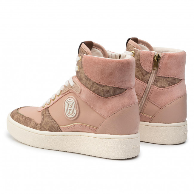 Zapatos es Top 231756 De G4335 Mujer High Ltr Sneakers CoachC220 Tan Zapatos Cc pale Blush mNnOv80w