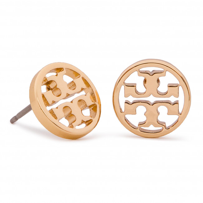 66d55953ce40 Pendientes TORY BURCH - Logo Circle Stud Earring 11165518 Tory Gold ...