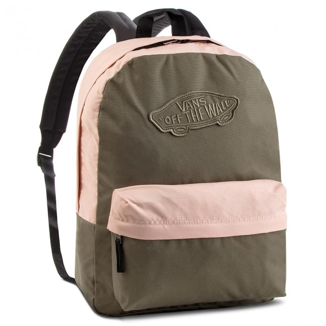 Mochila VANS - Realm Backpack VN0A3UI6UOT Dusty Olive Rose Cloud ... 63962e24881