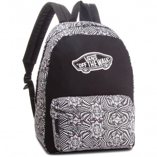 Mochila VANS - Realm Backpack VN000NZ0IB5 Checker Kaleid - Bolsos y ... 0c37ac87b05