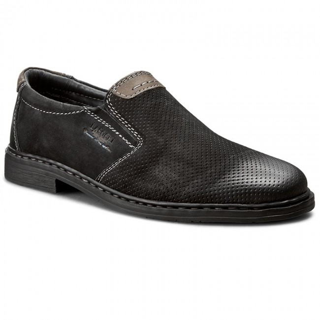 Mi229 16059 Lasocki Zapatos For Men Negro 7Yf6gIbyv