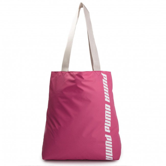 04 Gray Fuchsia Purple Bolso 075711 Core Puma Shopper silver reodWEQCxB