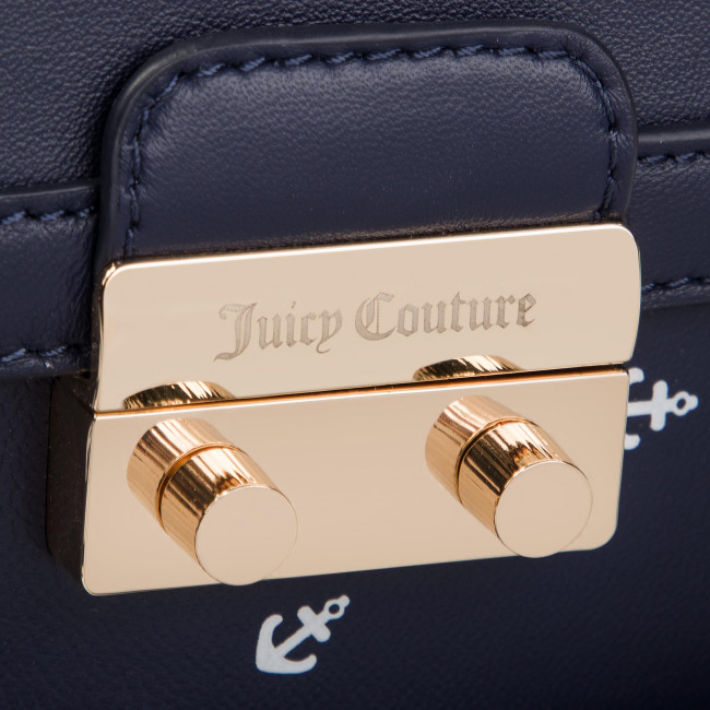 Marino Jbh5163 Azul Juicy Angelfloral Zapatos Trunk Couture es Bolsos LabelJewell Structured Clásicos Bolso Black xrdtCshQ