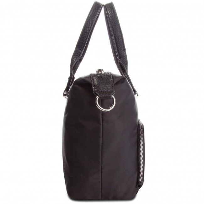 Jaxefly Black Nylon Bolso pu London P974637001 Fly USpzMV