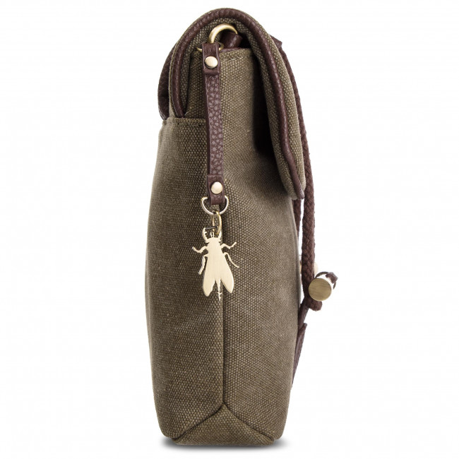 P974614007 dkBrown Fly London Bolso Dipifly Khaki c4R35jALq