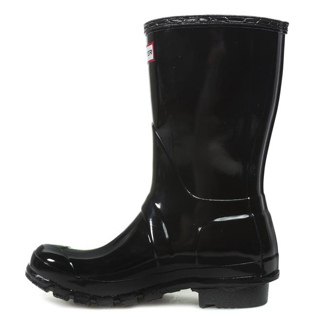 Black Agua Botas De Hunter Wfs1000rgl Gloss Short Original 1lK5c3TFJu