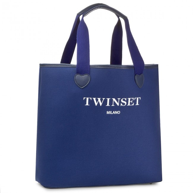 0058s Twinset Shopping Scuro Blu Bolso As8pna RL54A3jq