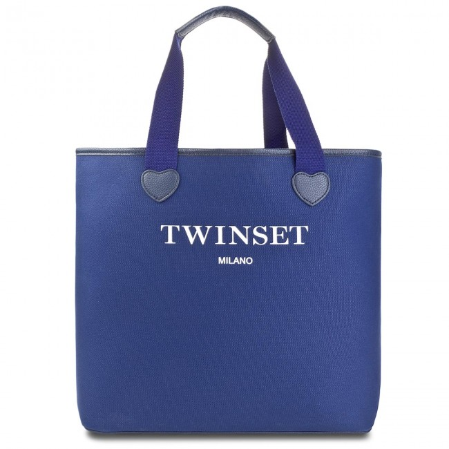 Scuro Shopper Blu Bolso TwinsetShopping Zapatos Bolsos StLondon 02303 es As8pna HDIWE29Y