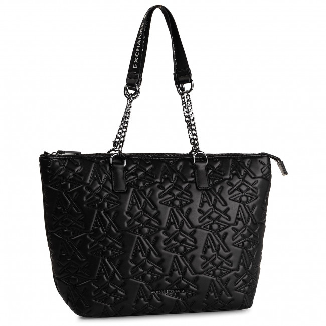 es Bolso Exchange942584 Bolsos Zapatos Armani 00020 Black Shopper 9a071 ZkPiuOX