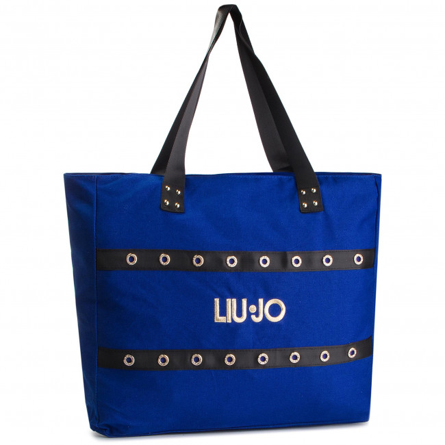 X0158 Shopper Bolso T5201 Manici Blue 2 Block JoBorsa Bolsos Liu es Zapatos V19123 c4RL5AS3jq