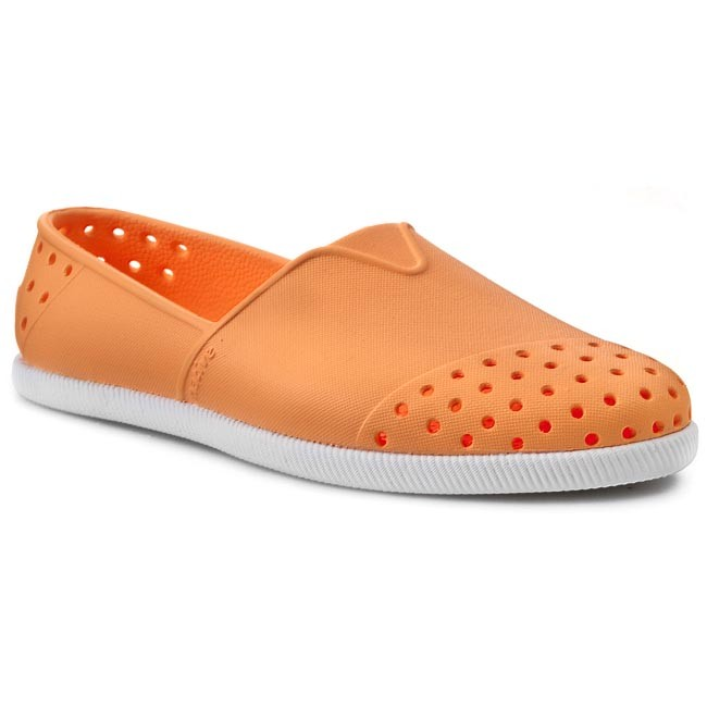 Orange White Zapatos De es Zapatos NativeVerona Planos Mujer Lazer shell T3cl1JFK