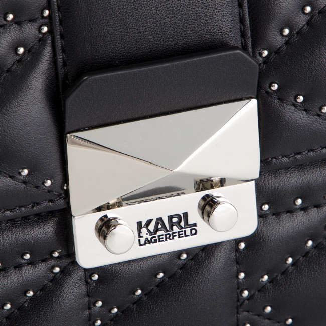 nickel Lagerfeld 91kw3048 Bolso Black Karl EYeWHD2I9