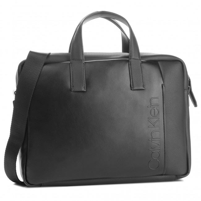 Logo Calvin Klein Portátil Bolso Elevated Laptop Para Bag Slim xqBCcwapR