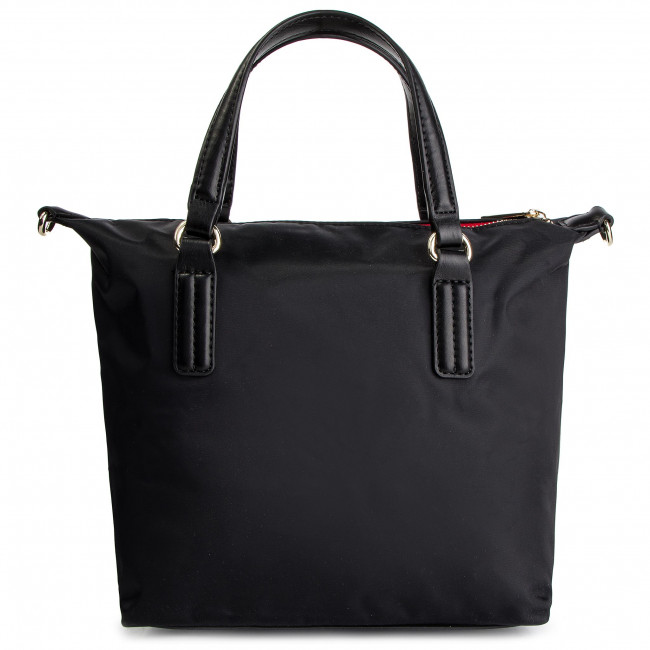 Hilfiger Aw0aw04361 002 Tommy Poppy Tote Bolso Small m8wvNnOP0y