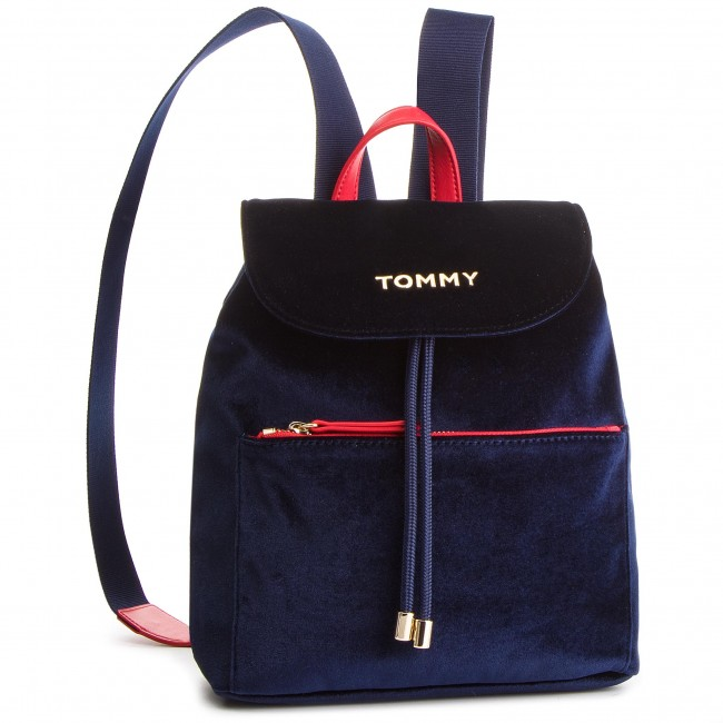 631b122941e Mochila TOMMY HILFIGER - Cool Tommy Backpack Velvet AW0AW06254 413 ...