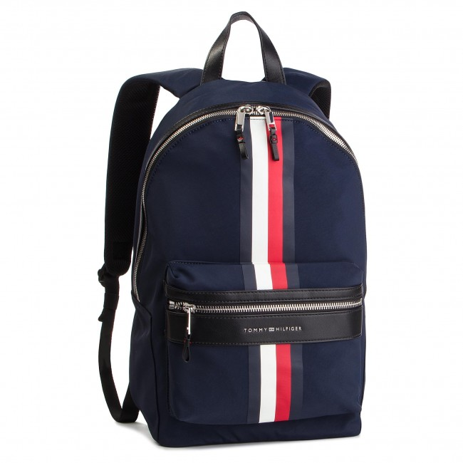 d7b858d7370 Mochila TOMMY HILFIGER - Elevated Backpack Stripe AM0AM04421 413 ...