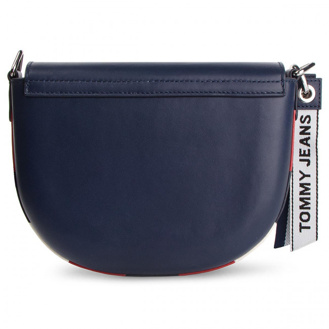 Tommy es Aw0aw06534 Pequeños JeansTjw Fun Bolsos Leather Crossover 496 Zapatos Bolso BeQrCxWod