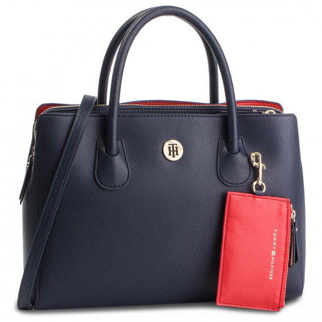 Aw0aw06487 Hilfiger Charming Med Tommy 413 Bag Work Bolso WDYI9HE2