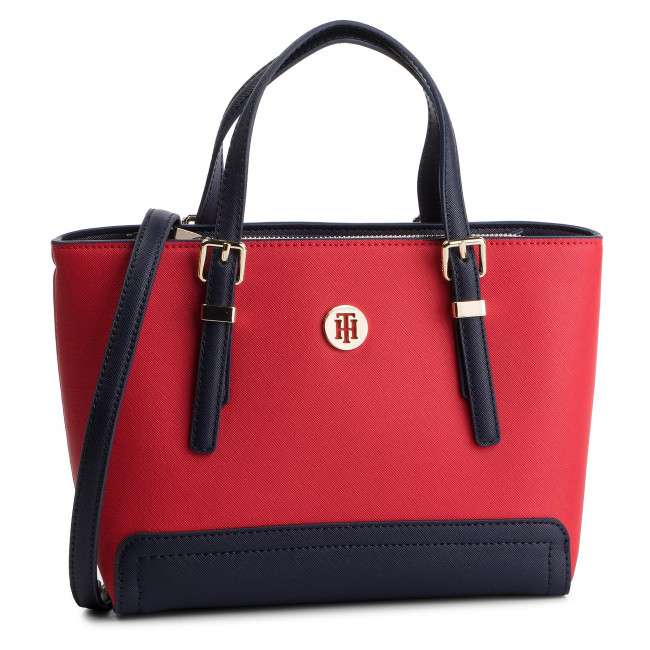 Tote 614 Honey Small Aw0aw06421 Tommy Hilfiger Bolso DIeYE2WH9