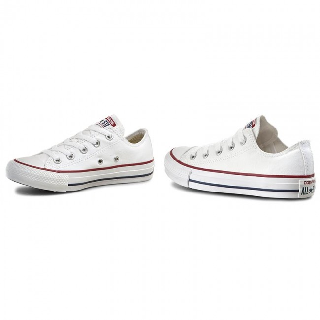 bf85d2326cab Zapatillas CONVERSE - All Star Ox M7652C Optical White - Zapatos ...