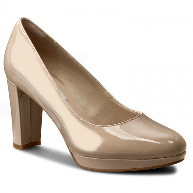 Zapatos CLARKS Kendra Sienna 261227934 Nude Patent