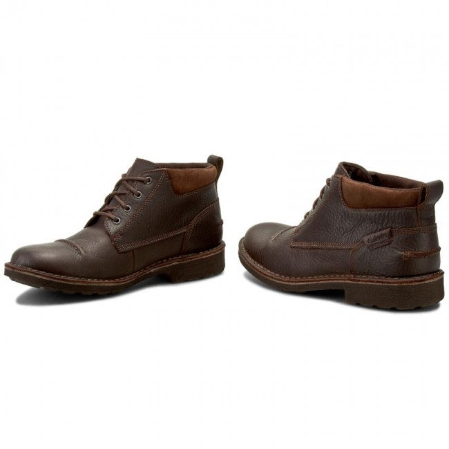 Botines CLARKS Lawes Top 261200137 Brown WLined Lea