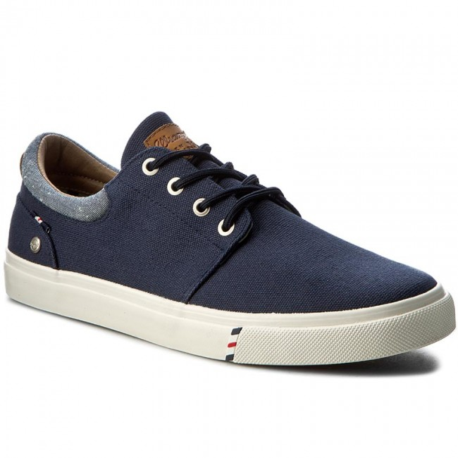 Tenis WRANGLER - Icon City Canvs WF0871335 Navy 16