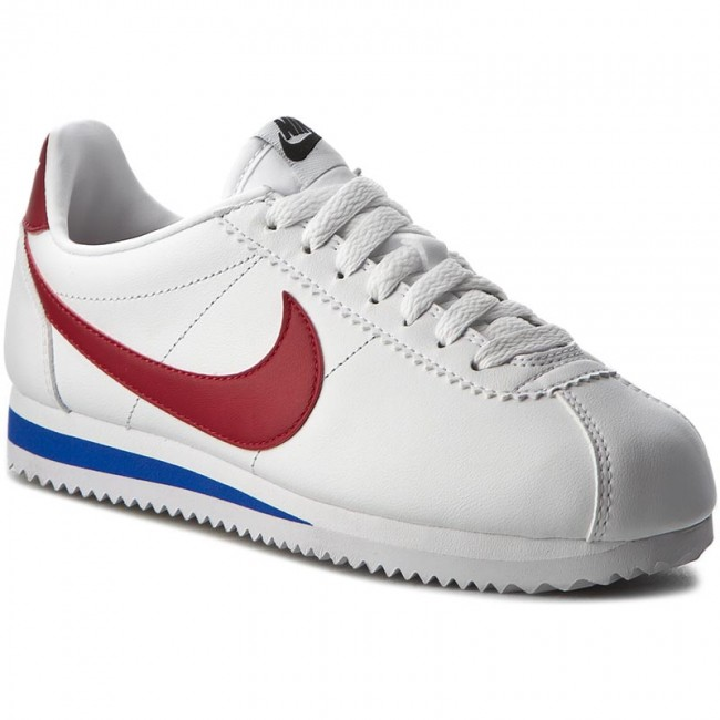 Red Nike 807471 varsity Sneakers 103 De Cortez Mujer Zapatos Classic White Leather T3lK1FcJ