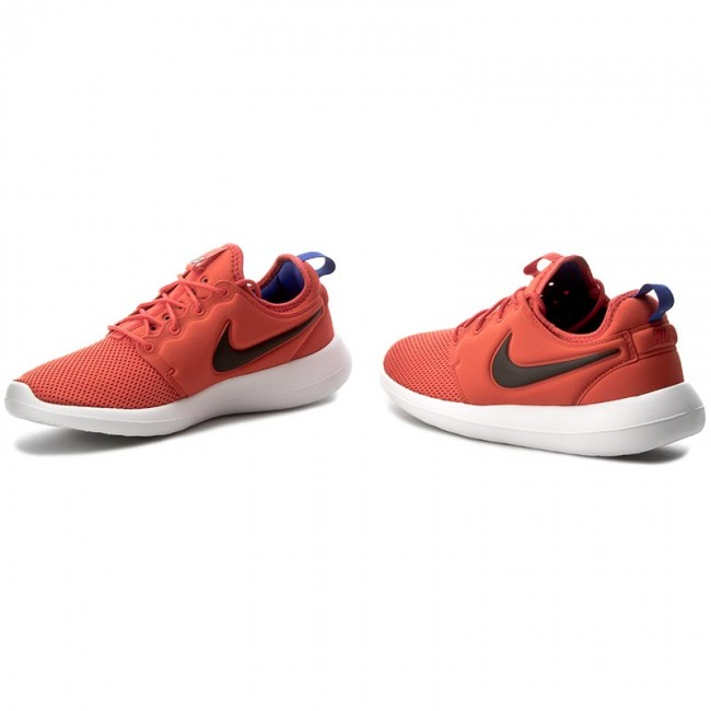 Zapatos NIKE - Roshe Two 844656 800 Max Orange/Black/Deep Night - Sneakers