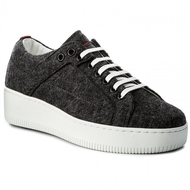 Sneakers HUGO - Margaret-FT 50376711 10202341 01 Charcoal 011