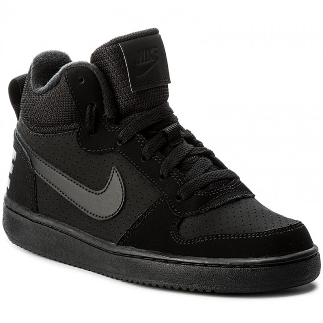 Midgs839977 Sneakers black Court Borough 001 Zapatos Black Nike De black Mujer 8kNP0OXnw