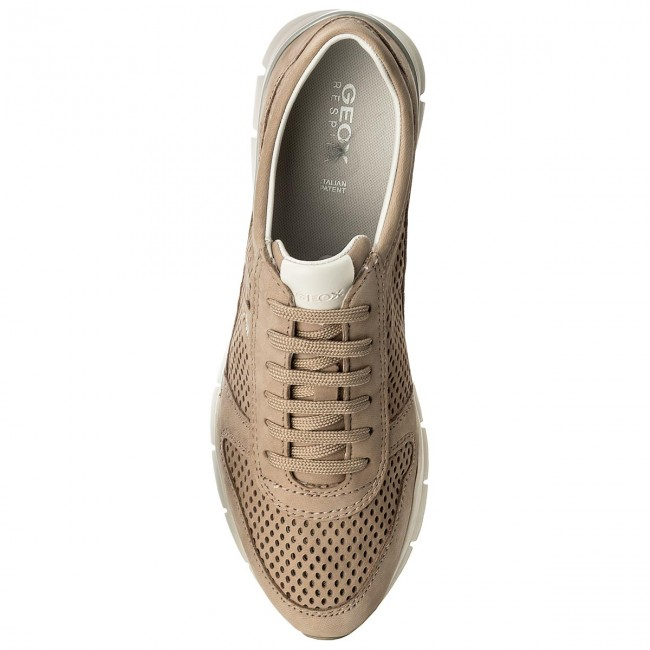 De F Sneakers Zapatos 000lt C6738 Lt Geox D62f2f Taupe Mujer D Sukie ZikuOPX