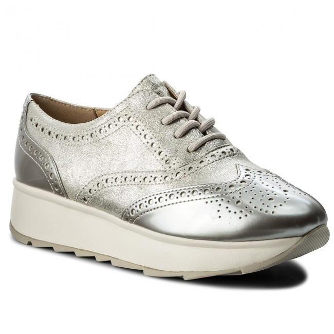 Silver Zapatos Geox D C1007 Gendry D825ta 0cnpv A WE2YD9IH
