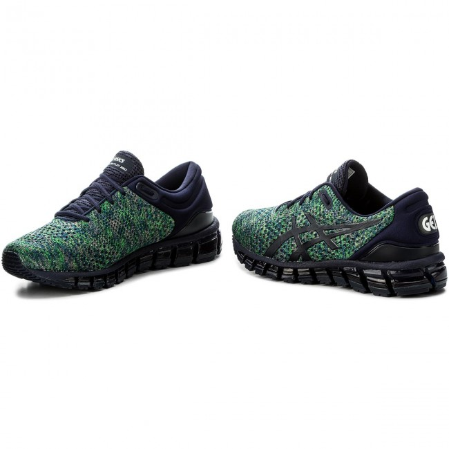 5506cfd5 Zapatos ASICS - Gel-Quantum 360 Knit 2 T840N Peacoat/Green/White 5884
