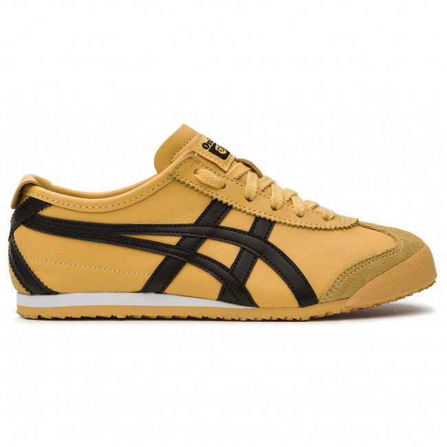 onitsuka tiger mexico 66 black and yellow 9s blanco