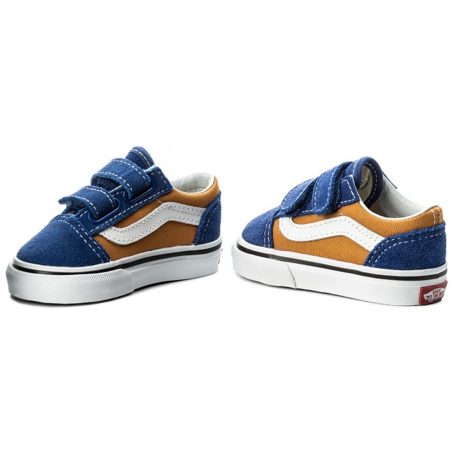 Zapatos VANS Old Skool V VN0A344KQ1B (Pop) Og BlueOg Gold