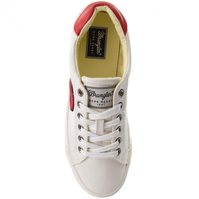 Wrangler Peggy 51 Zapatos Mujer Sneakers Wl181520 De White lFK13TJc
