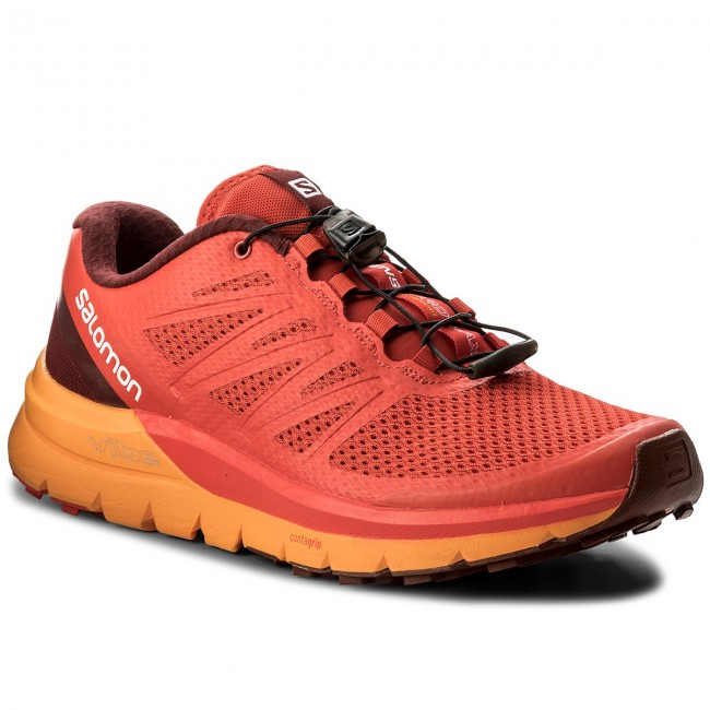 Zapatos SALOMON - Sense Pro Max 402380 27 W0 Fiery Red/Bright Marigold/Syrah