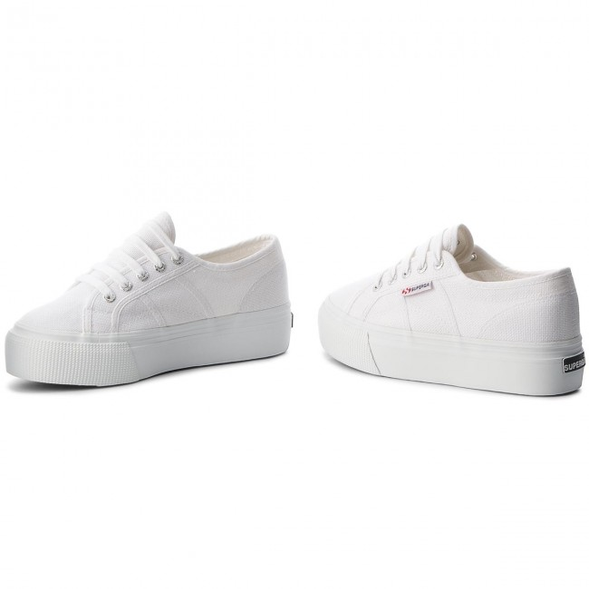 Tenis SUPERGA 2790 Acotw Linea Up And Down S0001L0 White 901