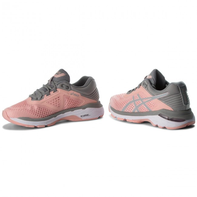 Zapatos ASICS GT 2000 6 T855N Frosted RoseStone Grey 700
