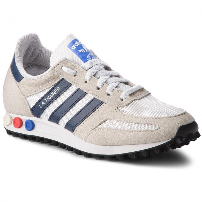 hot products cute cheap speical offer Zapatos adidas - La Trainer B37829 Crywht/Conavy/Cbrown - Sneakers ...