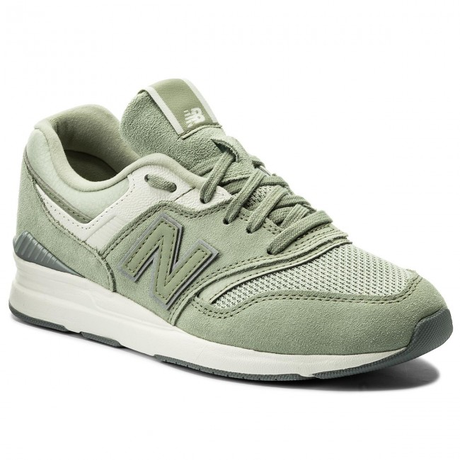 zapatos new balance mujer verde