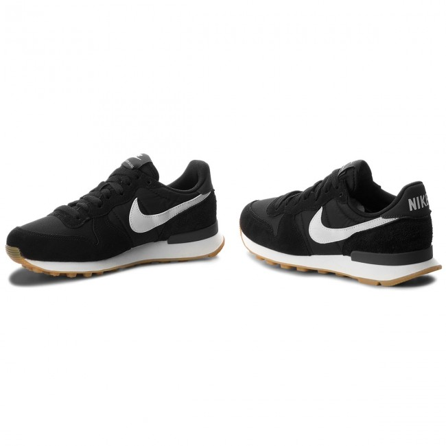 Zapatos Internationalist Mujer anthracite De Sneakers Nike summit 828407 Black White 021 m0Nnw8