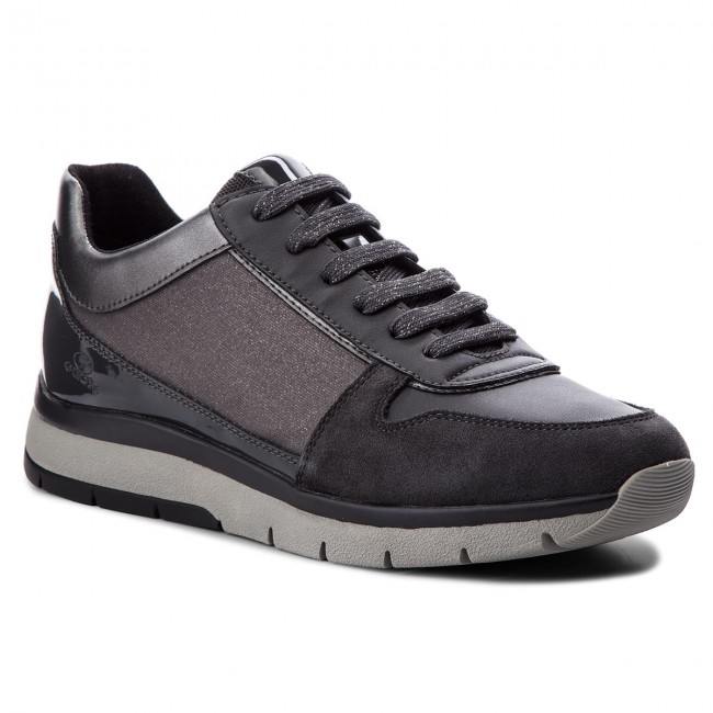 Callyn Sneakers De D Zapatos 0ewbc C1g9a D849gd Geox Mujer Gun anthracite uJF15KTlc3