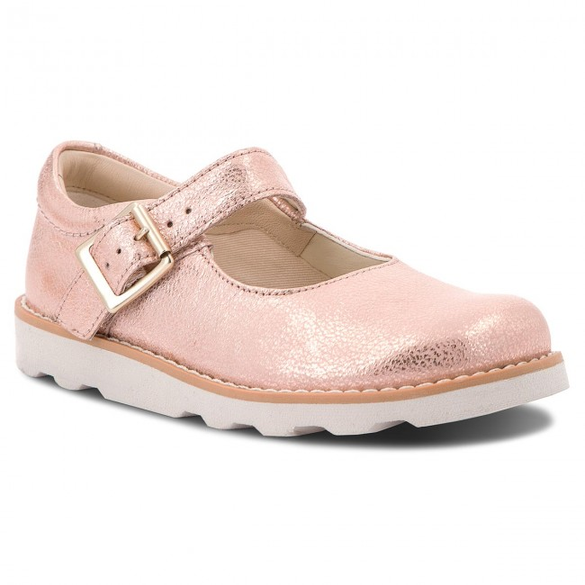 Zapatos CLARKS Crown Honor 261359016 Copper Leather