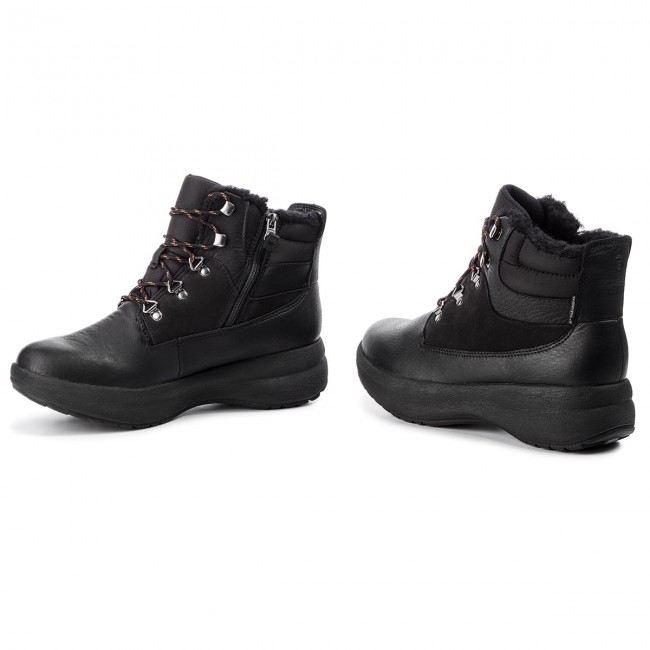 Botas CLARKS Un Orbit Lace 261361544 Black Combi