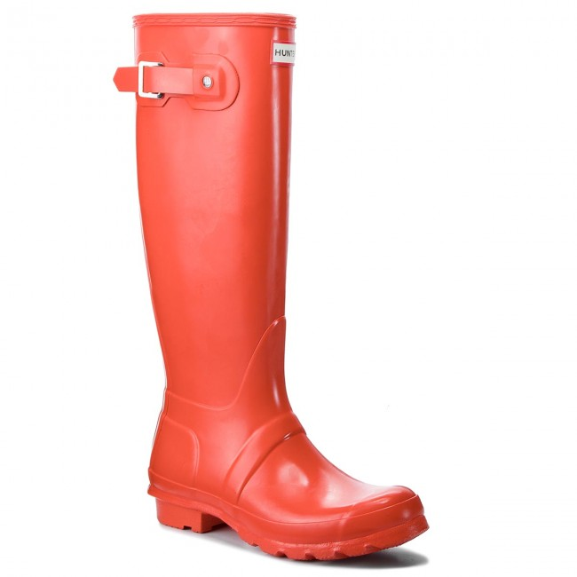 Botas de agua HUNTER Org Tall Gloss WFT1000RGL Orange