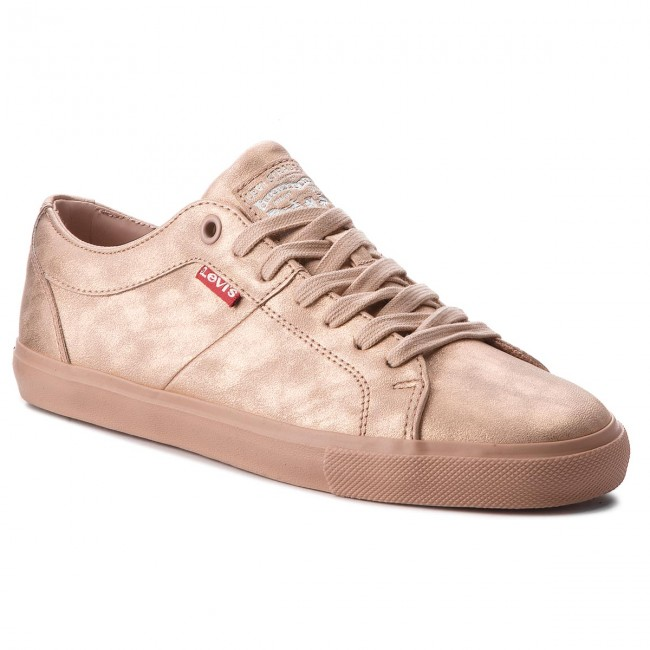 Light Levi's Pink 2950 81 De Zapatillas 227843 Tenis Zapatos Mujer hrtsQdC