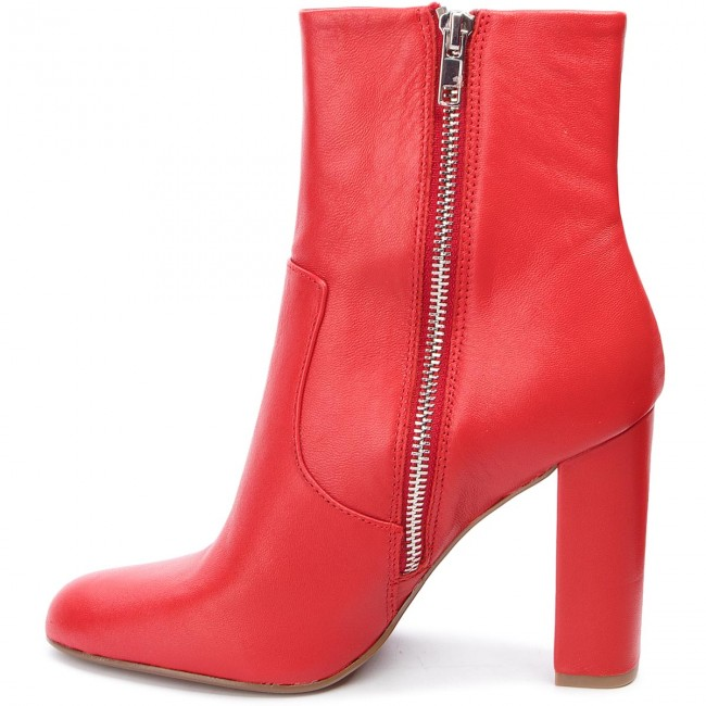 Red Otros Botines Sm11000088 Botas Zapatos Mujer 607 Editor De Boot 03001 Steve Madden Leather Y Ankle DHE9I2