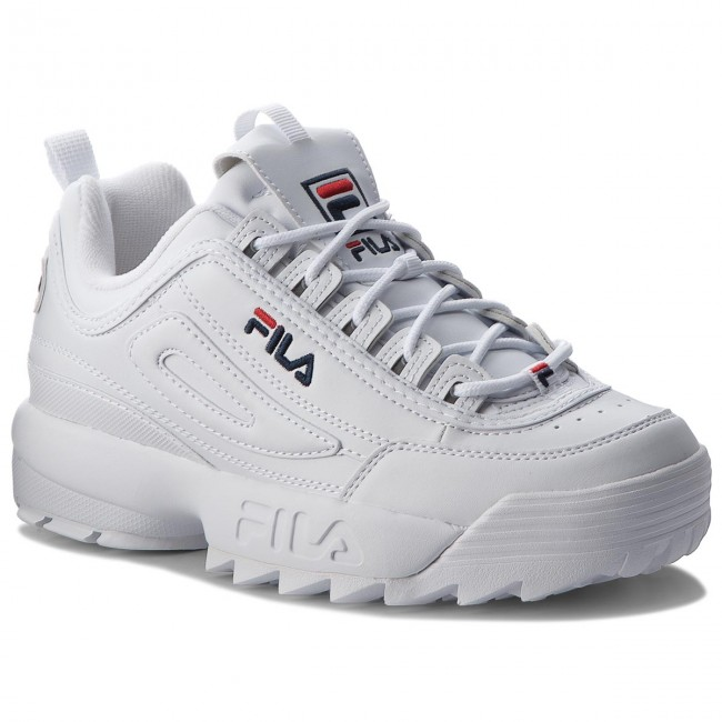 Disruptor 1010262 1fg Sneakers White Low Fila CoBshQrtdx